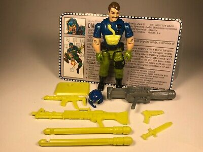 G I JOE Accessory 1993 Law 1994 Dial-Tone     Light Yellow Battle Display Stand
