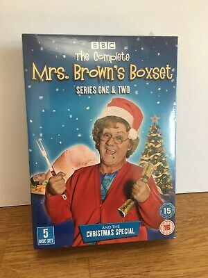 Mrs Browns Boys Complete Series 1-2 Christmas Special Box Set DVD New and Sealed