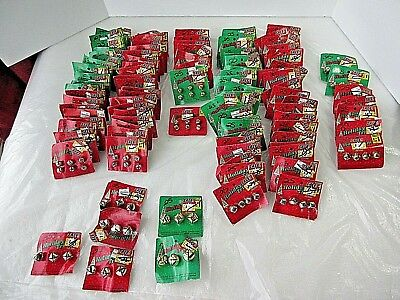 "Lot of 504 Shiny SILVER & GOLD JINGLE BELLS 1/4""-1/2""-1"" Crafts Holiday NEW"