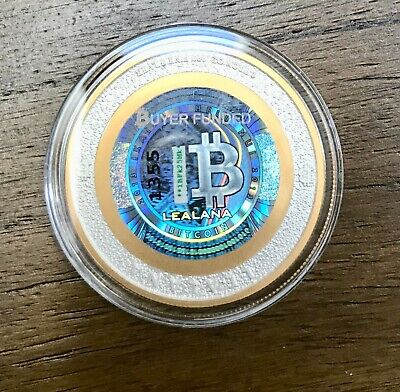 Unfunded/no loaded value- LEALANA 2013 bit coin 1 BTC - like lite coin CASASCIUS