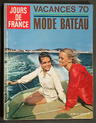 'jours De France' Vintage Magazine Holiday Issue 23 June 1970