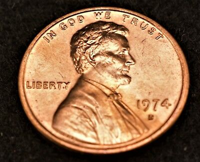 1974-D Premium Bu Lincoln Memorial Cents From Rolls