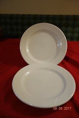 """12 Homer Laughlin 8 1/4"""", plate, dishes."""