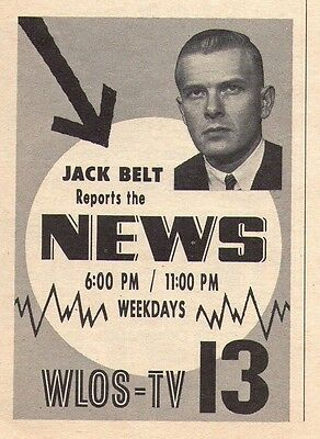1963 TV NEWS Ad~Mike Norton~Harry Marble~Bob O'wril~Channel 13