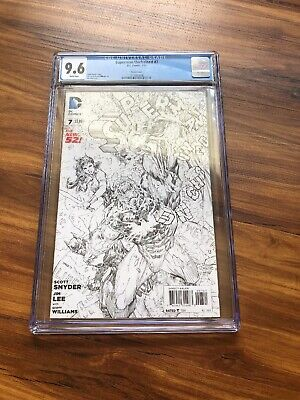 Superman Unchained (2013 DC) #7 Sketch Variant CGC 9.61:100