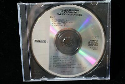 "Thelonious Monk, ""The Complete Riverside Recordings"" (CD, Oct-1988, disk 7 only)"