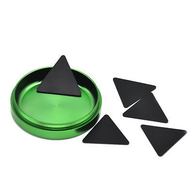 Black Herb Grinders Catcher & Scrapers Durable Tool Tobacco Gatherer - 5 Pack