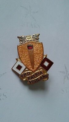 Authentic Army Signal Center School Fort Gordan Device Badge DI DUI Insignia NH