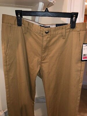 US Polo Assn. Honey Khaki Slim Chinos Size 34 x 30 NWT Style 112958LMSCD