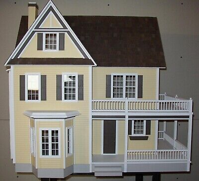 Anna Claypoole Peale Dollhouse Painted//Assembled