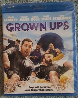 Grown Ups Blu Ray Disc 2010 NEW and Sealed