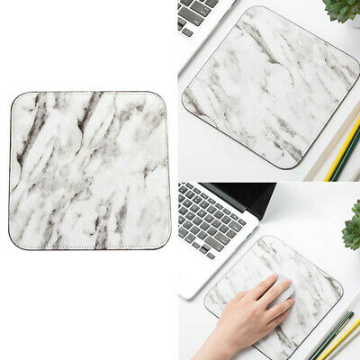 1x Mouse Pad Office Rubber Anti-slip Marble Pattern Gaming Desk Mat Cartoon