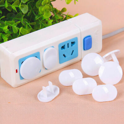 20Pcs Mini Power Socket Outlet Plug Protective Cover Baby Child Safety Protector