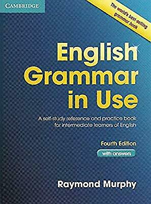 English Grammar in Use with Answers and Practice Book 4th edition(PDF Book)