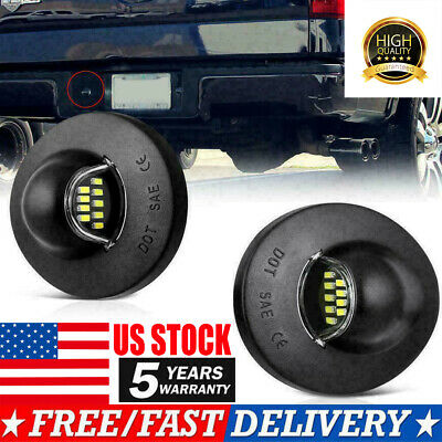 5x For 88-02 GMC Clear Cab Marker Clearance 264159CL Light+5xBlue 5-5050 W5W LED