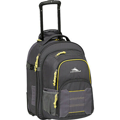 High Sierra Ultimate Access 2.0 Carry On  Wheeled Rolling Backpack NEW