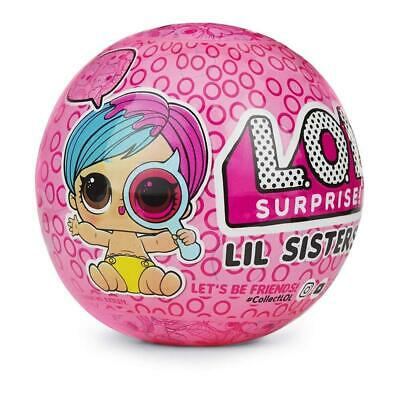 L.O.L. Surprise! Eye Spy Lil Sisters Doll Ball Wave 2 Series LOL Collectible MGA