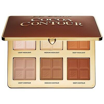 TOO FACED Cocoa Contour Palette NEW 2019 AUTHENTIC NO FEES W/REC