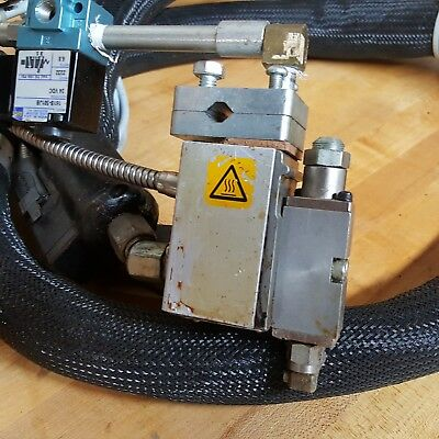 Nordson H201T Applicator with Hose and Mac Actuator