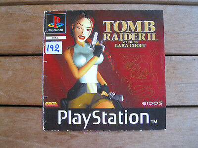 Tomb Raider Ii - Playstation 1 - Front Cover Originale - No Disco