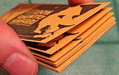 Reduced! LION COUNTRY SAFARI VIP 1970'S (7) ADMISSION TICKETS  BOOK RARE VINTAGE