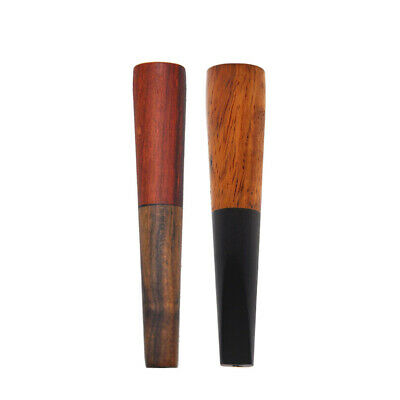 COURNOT Premium Ebony Wood Creative Filter Smoking Pipe Tobacco Cigarette Holder