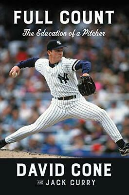Full Count: The Education of a Pitcher by David Cone (Hardcover, 2019)
