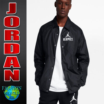 4a5e8cc9739c87 Nike Men s Size 2Xl Air Jordan Re2Pect Jeter Black Coaches Jacket Aa1867 010