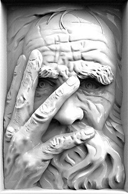 3D Stl Model Relief Artcam Cnc Decor Pano The Temptation Of Peter High Quality