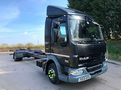 2013 13 DAF LF 45.210 euro 5 12ton 24FT chassis cab air suspension a/c
