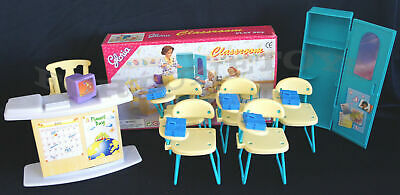 NEW GLORIA DOLL HOUSE FURNITURE Size CLASSROOM Classroom Chairs (9816)