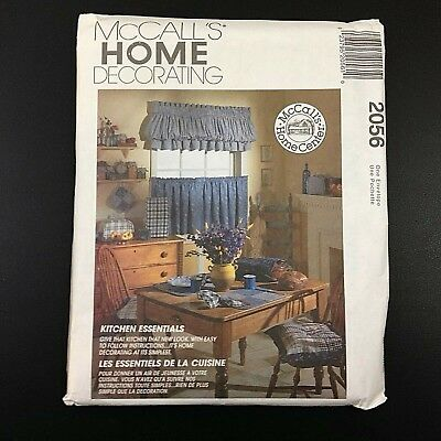 McCalls 2056 Home Decorating Kitchen Essentials Multiple Items UC New Old Stock