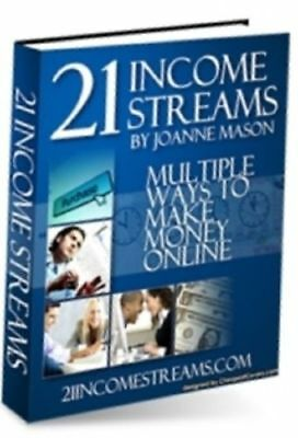 21 Income Streams PDF eBook with Master Resell Rights ebooks + bonus