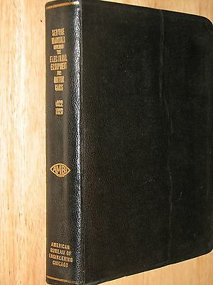 AMBU Service Manual 1922 - 1923 American Bureau of Engineering Inc 1923