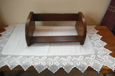 Vintage Wooden Book Stand / shelf Suitable For Large Books