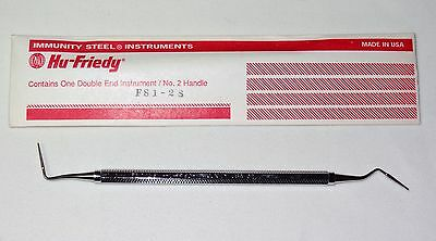 HU-FRIEDY FS3/4S Curette Double Embouts Intrument Numéro 2 Dentaire