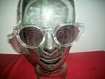 d53445d7ef8d7 Lucky Brand Sunglasses~ Clear Plastic W metallic~D927 52 18-145 Crystal