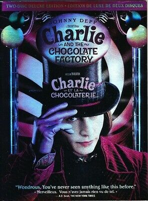 Charlie and the Chocolate Factory OOP 2-Disc Deluxe Edition DVD