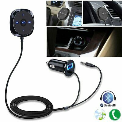 AUX-in USB Car Kit Transmitter MP3 Player Magnetic Handsfree Bluetooth Charger
