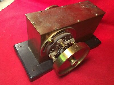 Antique Willy Young & Co. Brass Secohmmeter  Lab Instrument