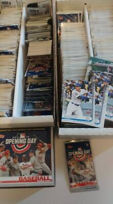 2019 Topps Opening Day Baseball Cards UPick From List Lot 1-200 Finish Set Team