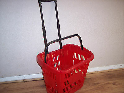 Plastic Shopping Trolley Baskets