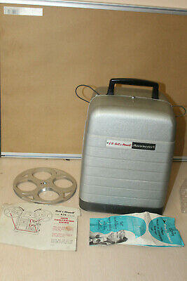 G. B. BELL & HOWELL MOVIEMASTER 635U FILM PROJECTOR 8mm