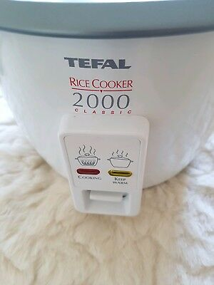 Tefal Classic 2000 Rice pasta potatoes steam automatic Cooker
