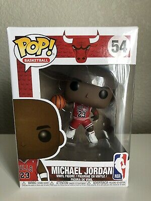 Funko Pop! - Michael Jordan #54 - Jumpman - In Hand - NBA Chicago Bulls