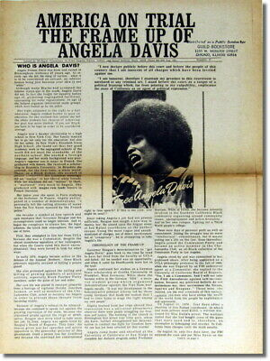 Black Panther Party / America on Trial The Frame Up of Angela Davis 1971