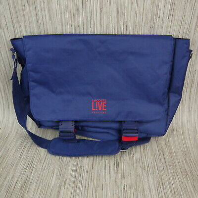 c0785d4d48 LACOSTE LIVE PARFUMS Messenger Bag Carry On Luggage Backpack ...
