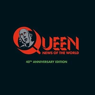 New QUEEN 40th Anniversary Super Deluxe CD+DVD+LP NEWS OF THE WORLD Japan F/S