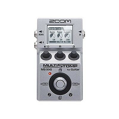 New ZOOM MS-50G MULTI STOMP Multi-Effects Guitar Pedal From Japan F/S
