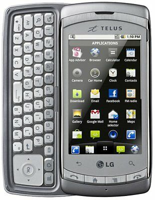 *Read*Lg Shine C710H Unlocked Hspa Cell Phone Fido Rogers Bell At&T Telus Koodo+